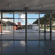 Interno- ingresso del Centro ELsa Morante