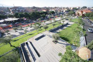 Progetto Parco Colliina della Pace sistemazione terrazze