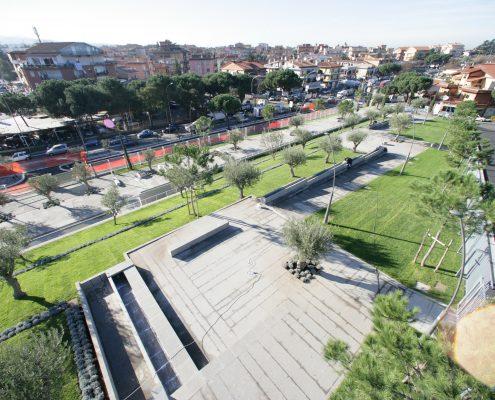 Progetto realizzato sulla centralità urbana di Collina della Pace